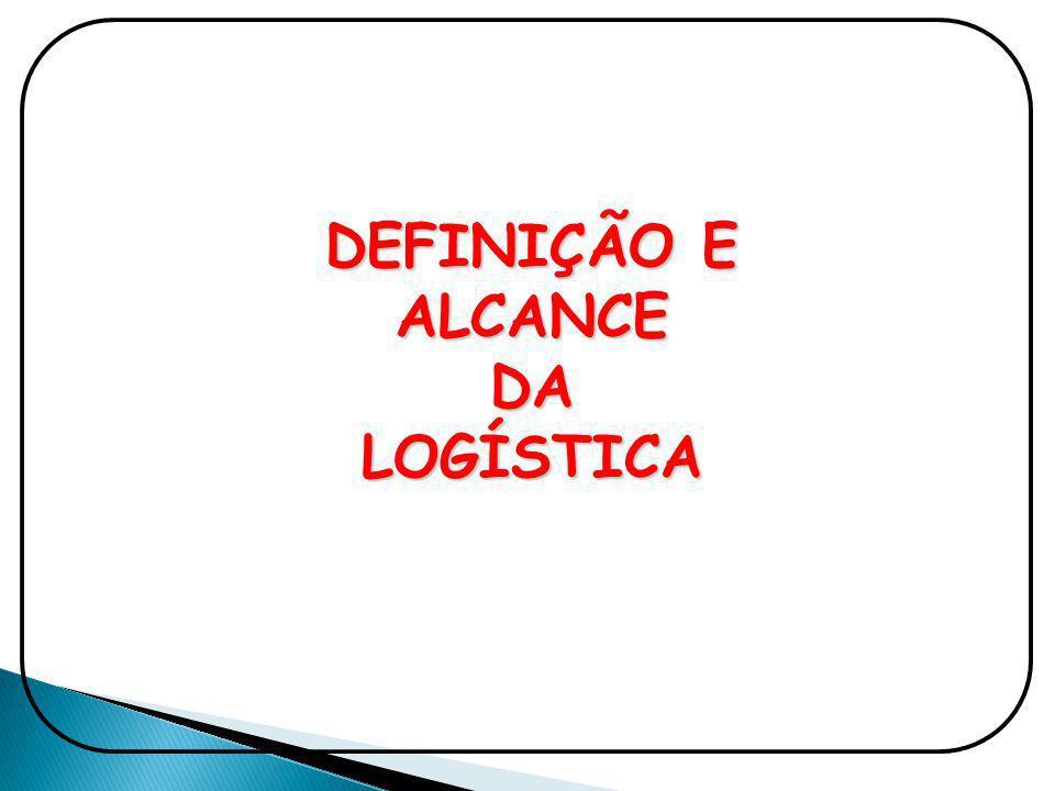 DEFINIÇÃO E ALCANCE DA LOGÍSTICA