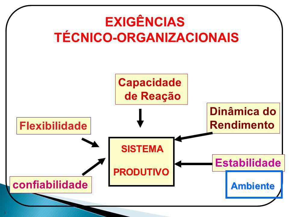 TÉCNICO-ORGANIZACIONAIS