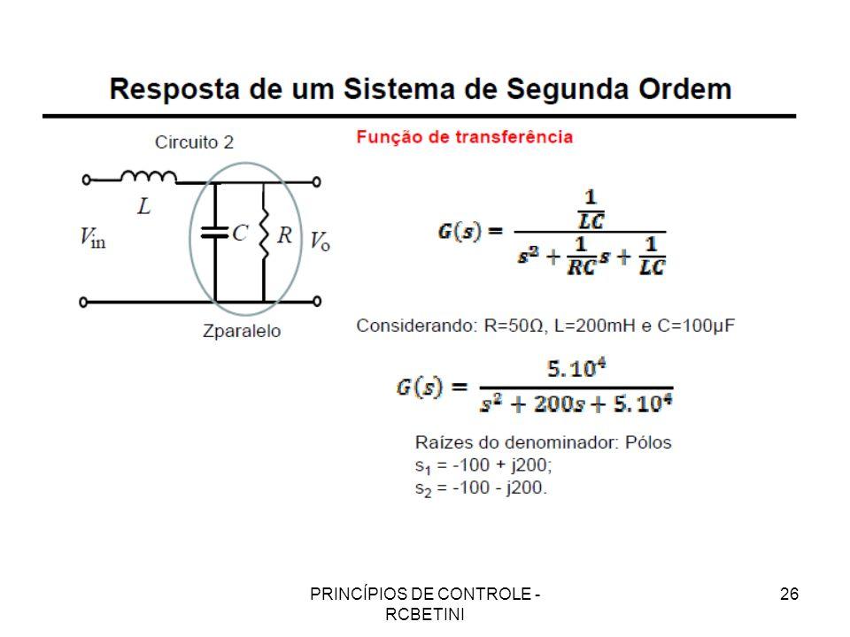 PRINCÍPIOS DE CONTROLE - RCBETINI