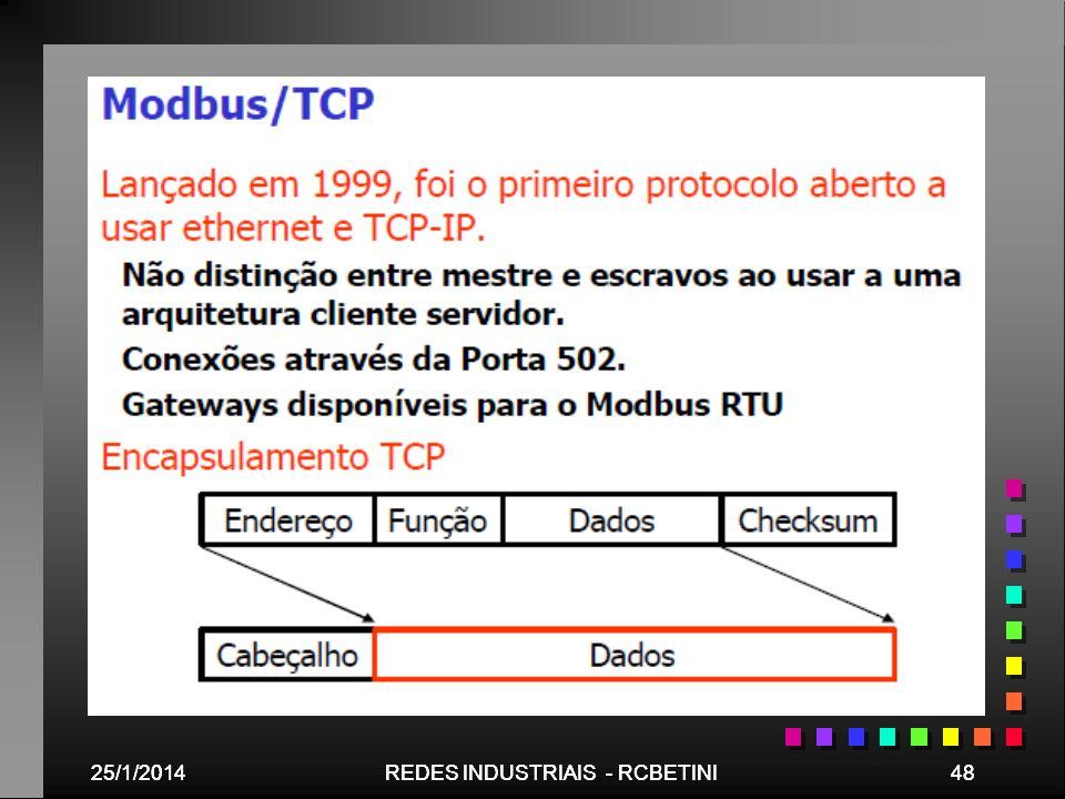 REDES INDUSTRIAIS - RCBETINI REDES INDUSTRIAIS - RCBETINI 48