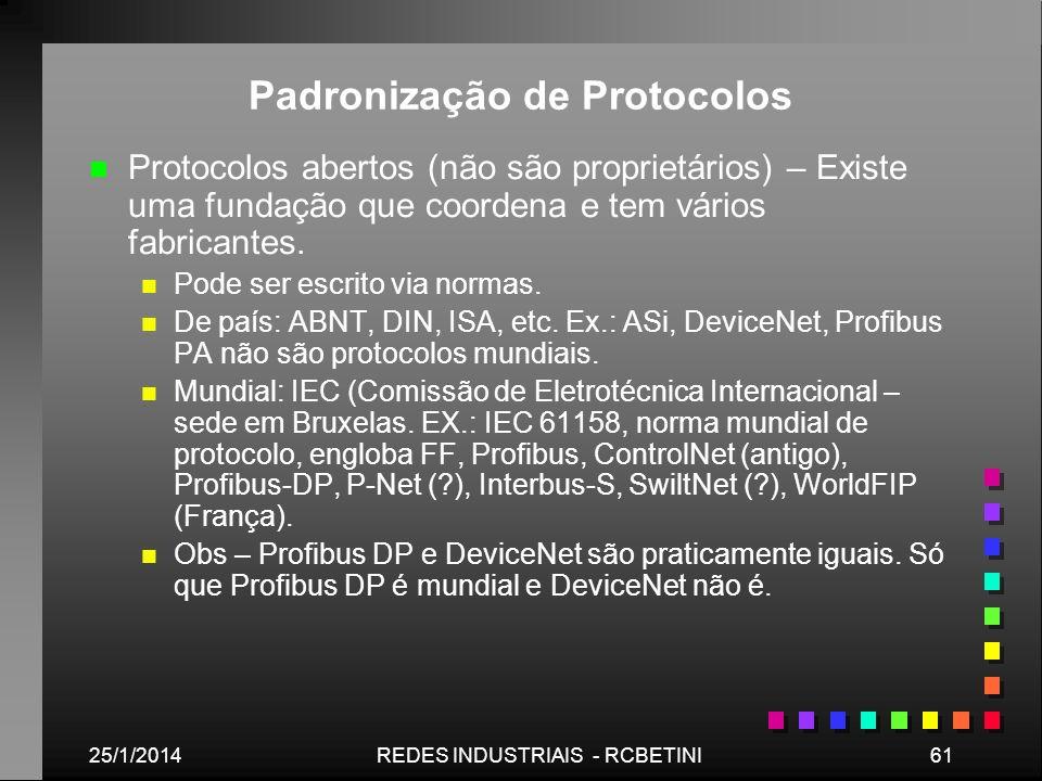 Padronização de Protocolos