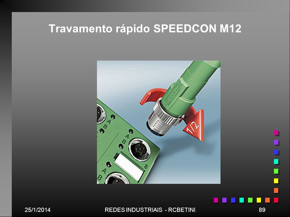 Travamento rápido SPEEDCON M12