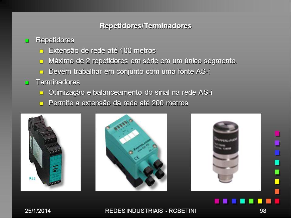 Repetidores/Terminadores