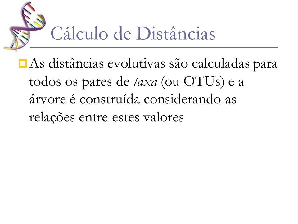 Cálculo de Distâncias
