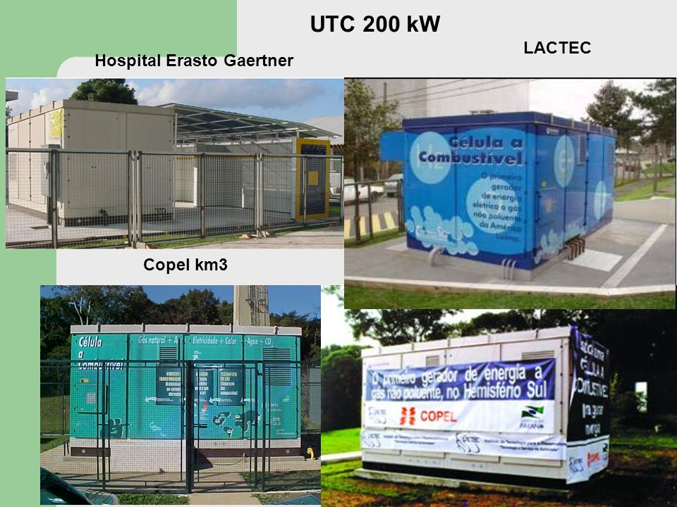 UTC 200 kW LACTEC Hospital Erasto Gaertner Copel km3
