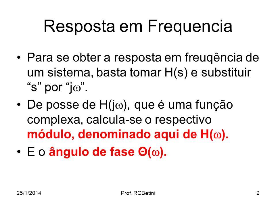 Resposta em Frequencia