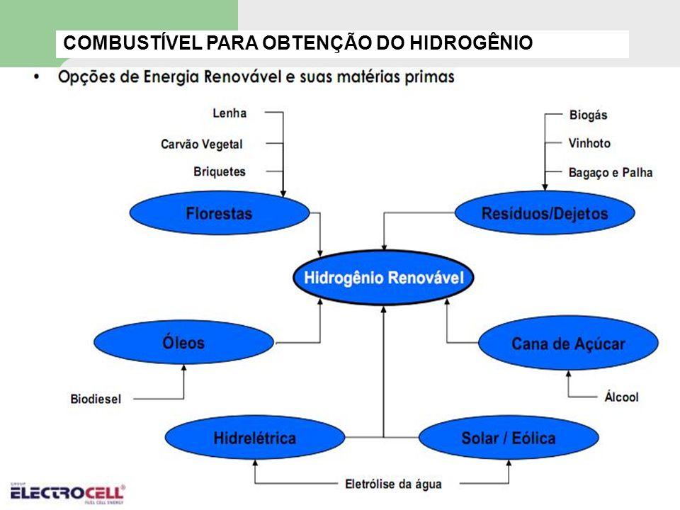 COMBUSTÍVEL PARA OBTENÇÃO DO HIDROGÊNIO