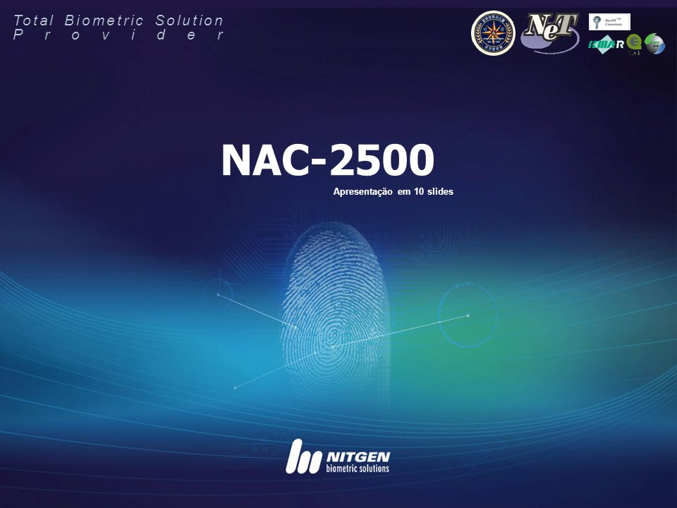 NAC-2500 Total Biometric Solution Provider
