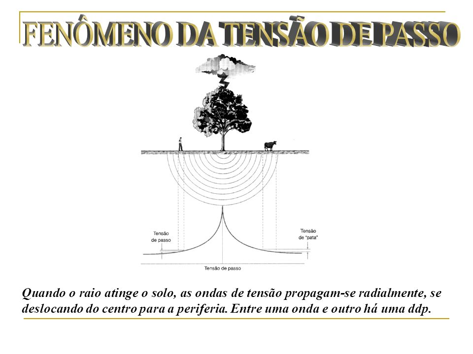 FENÔMENO DA TENSÃO DE PASSO