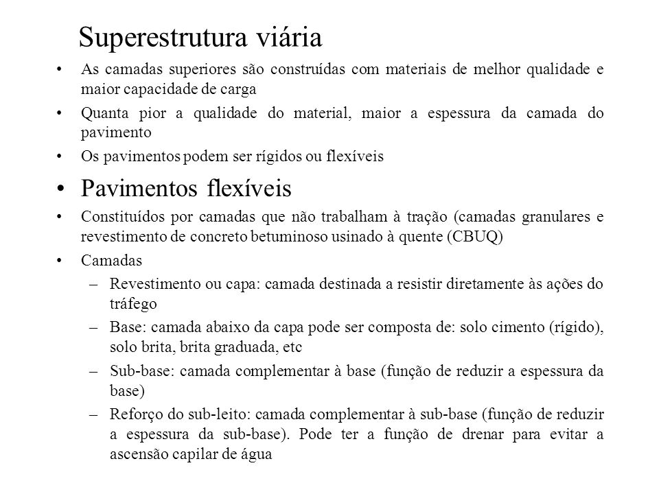 Superestrutura viária