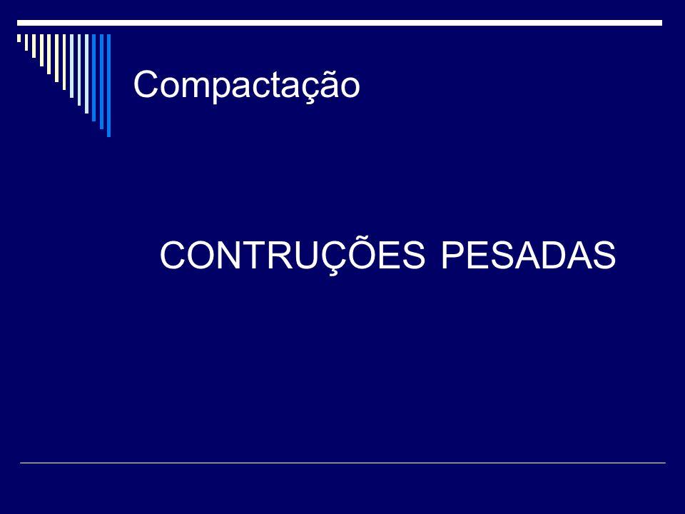 Compactação CONTRUÇÕES PESADAS