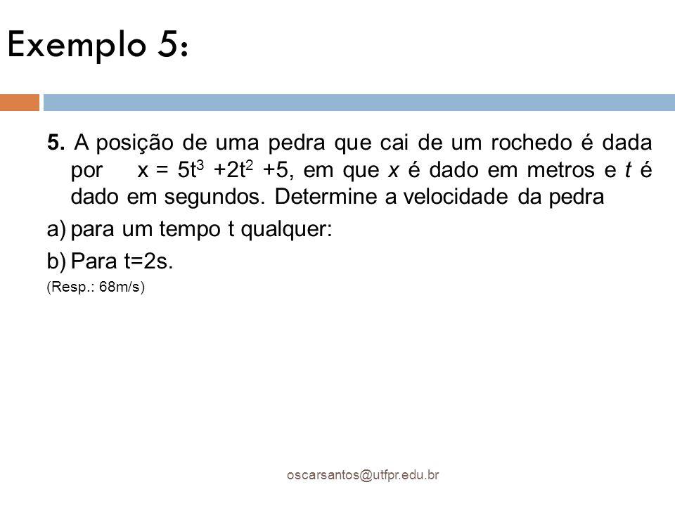 Exemplo 5: