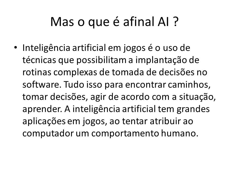 Mas o que é afinal AI