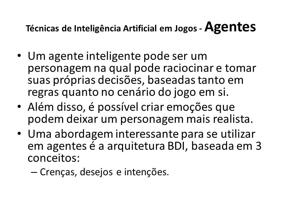 Técnicas de Inteligência Artificial em Jogos - Agentes