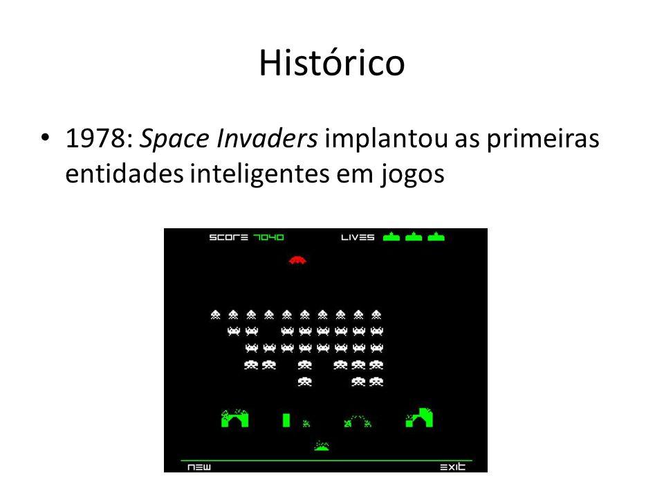 Histórico 1978: Space Invaders implantou as primeiras entidades inteligentes em jogos
