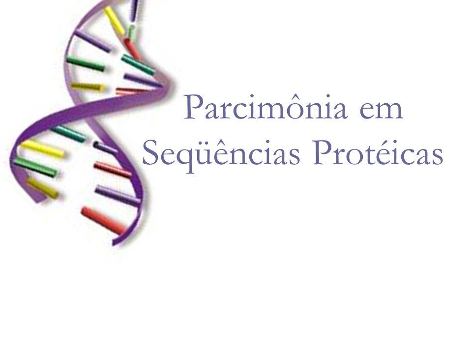 Parcimônia em Seqüências Protéicas