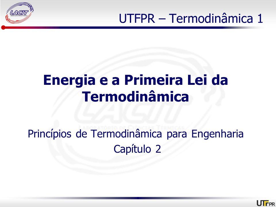 Energia e a Primeira Lei da Termodinâmica