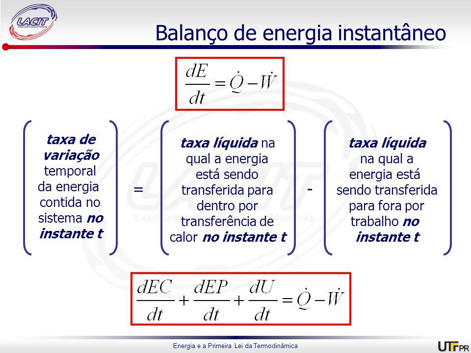 Balanço de energia instantâneo