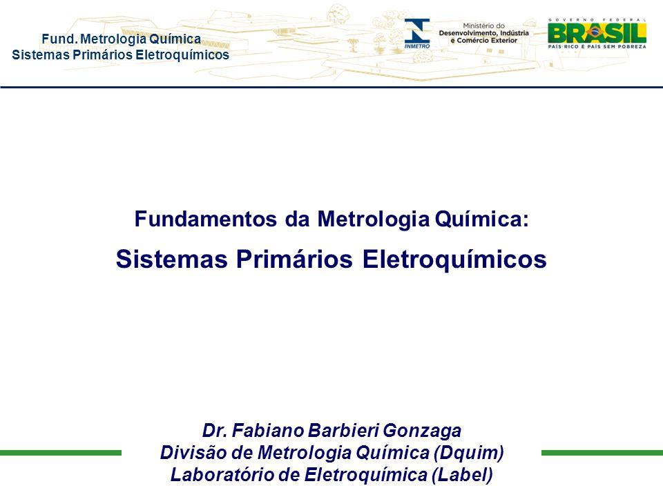 Sistemas Primários Eletroquímicos
