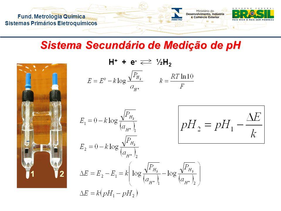 Sistema Secundário de Medição de pH