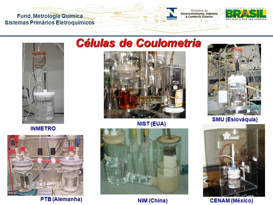 Células de Coulometria
