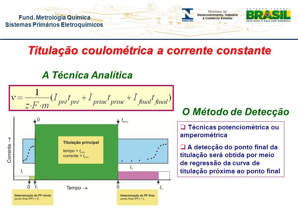 Titulação coulométrica a corrente constante