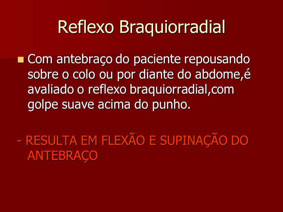 Reflexo Braquiorradial