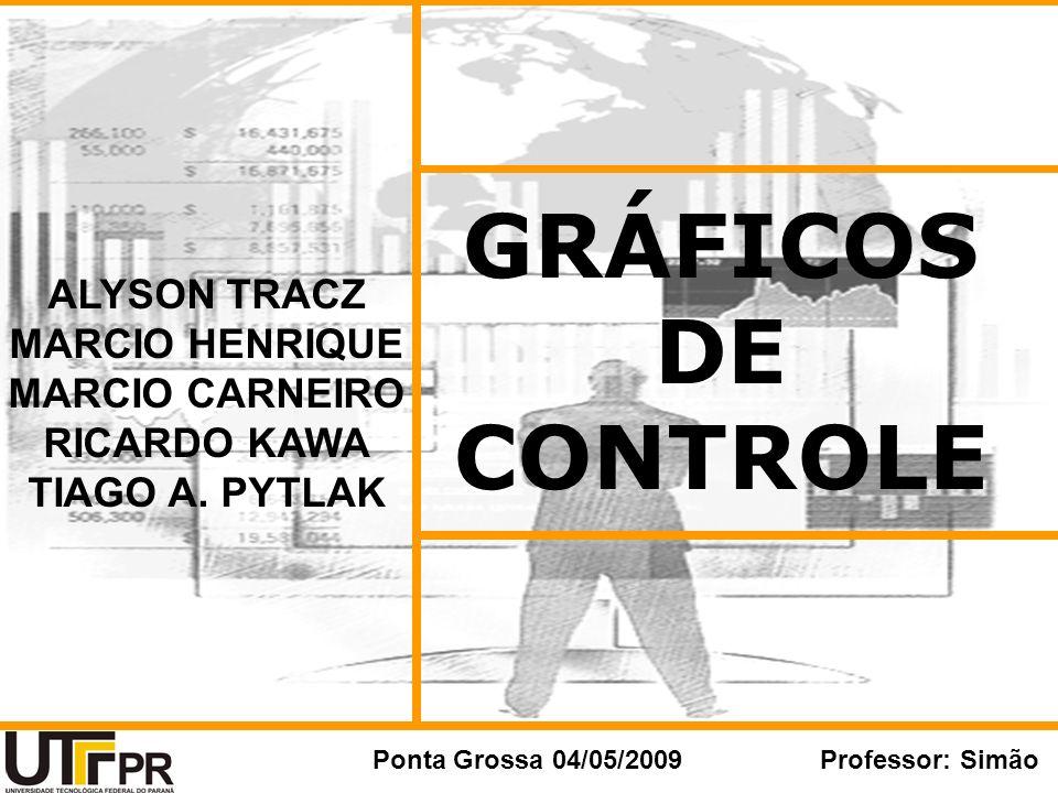 GRÁFICOS DE CONTROLE ALYSON TRACZ MARCIO HENRIQUE MARCIO CARNEIRO