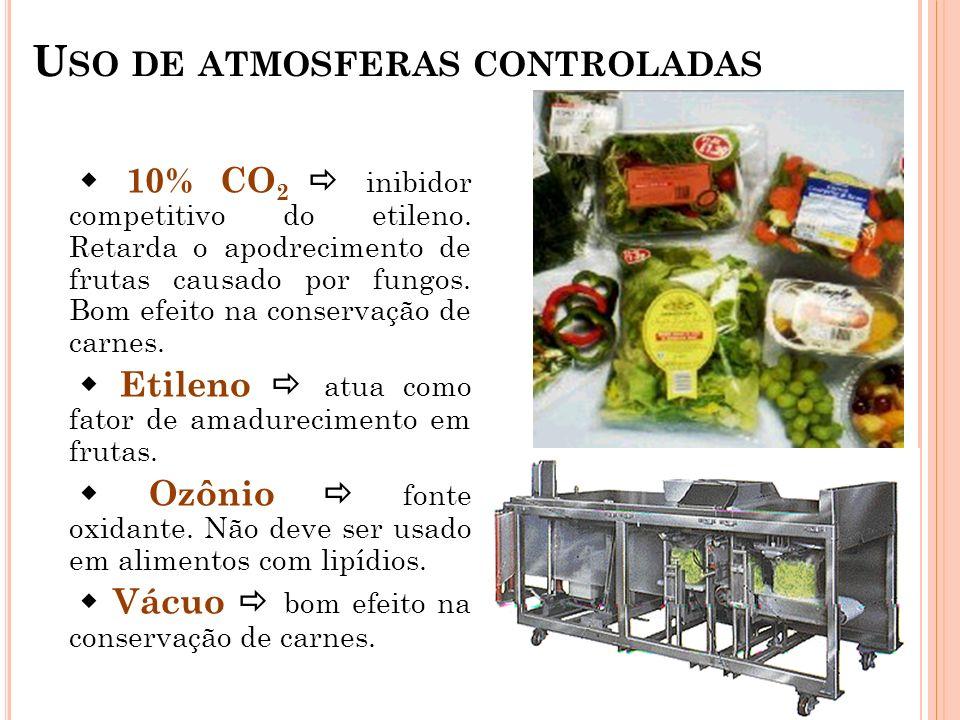 Uso de atmosferas controladas