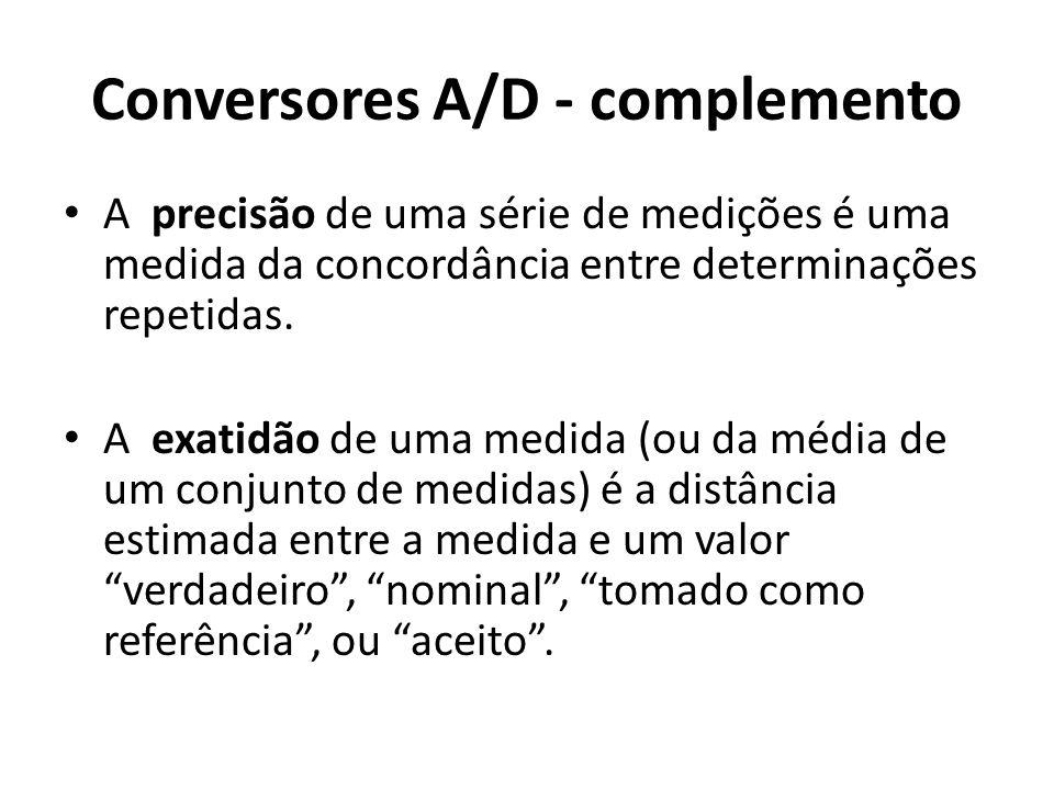 Conversores A/D - complemento