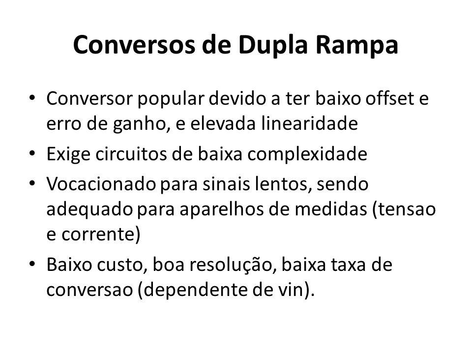 Conversos de Dupla Rampa
