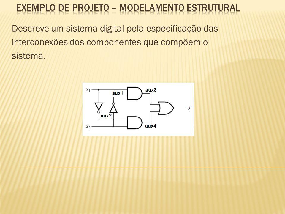 EXEMPLO de projeto – MODELAMENTO ESTRUTURAL