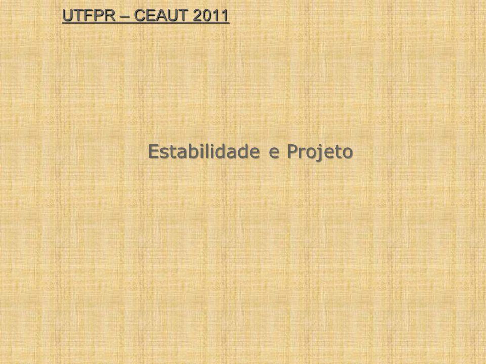 Estabilidade e Projeto