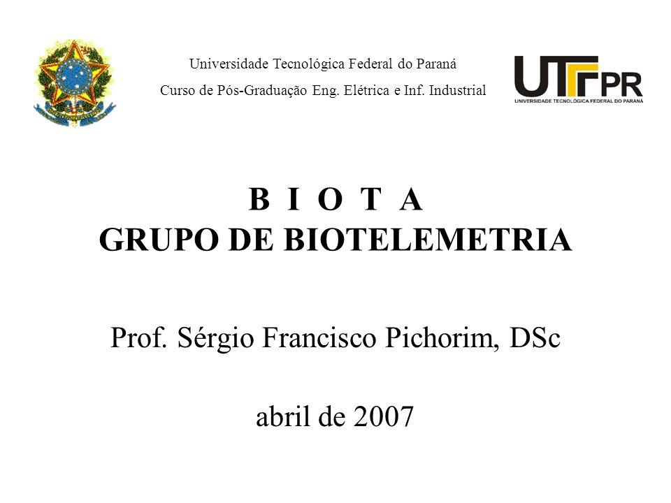 B I O T A GRUPO DE BIOTELEMETRIA