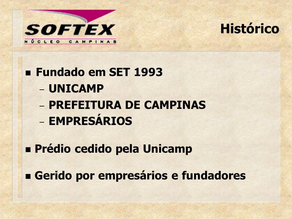 O Núcleo SOFTEX Campinas