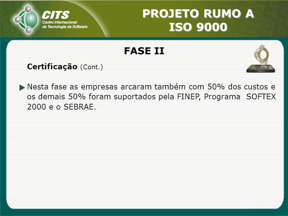 FASE II Certificação (Cont.)