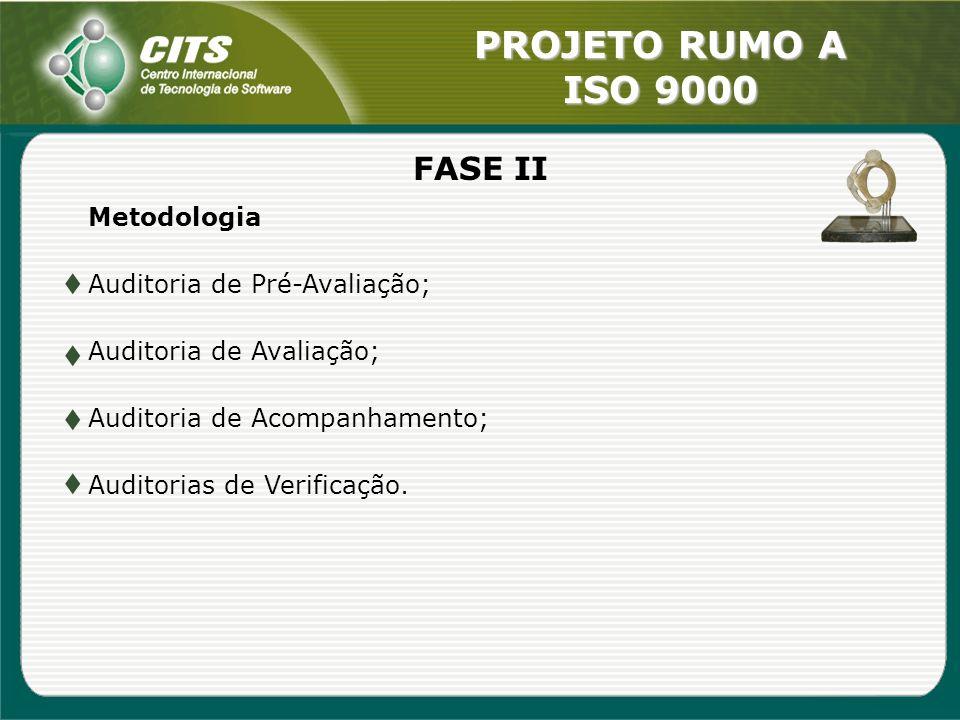 FASE II Metodologia Auditoria de Pré-Avaliação;