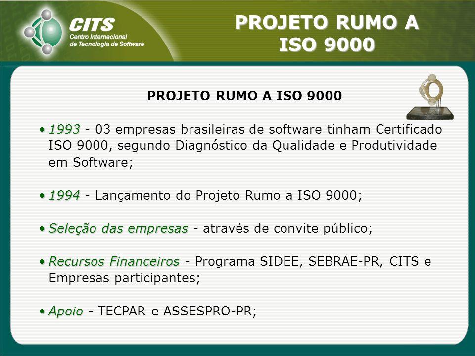 PROJETO RUMO A ISO 9000