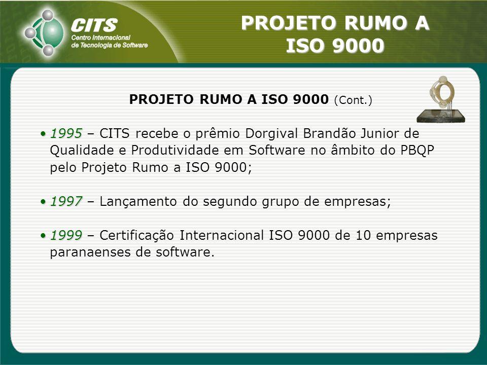 PROJETO RUMO A ISO 9000 (Cont.)