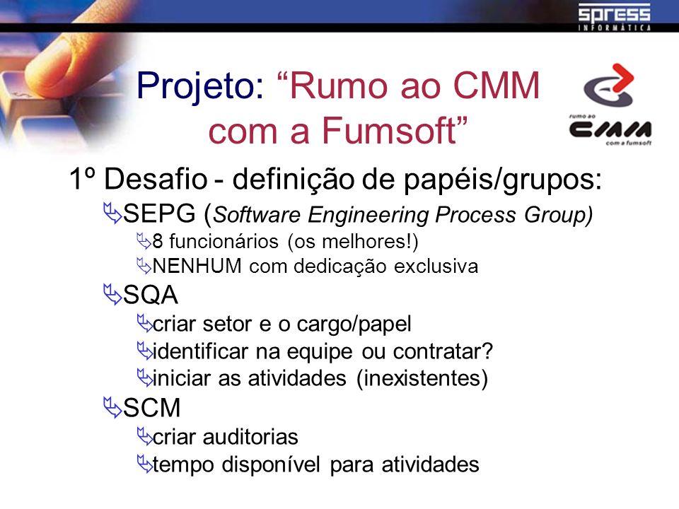 Projeto: Rumo ao CMM com a Fumsoft
