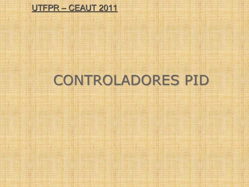 UTFPR – CEAUT 2011 CONTROLADORES PID