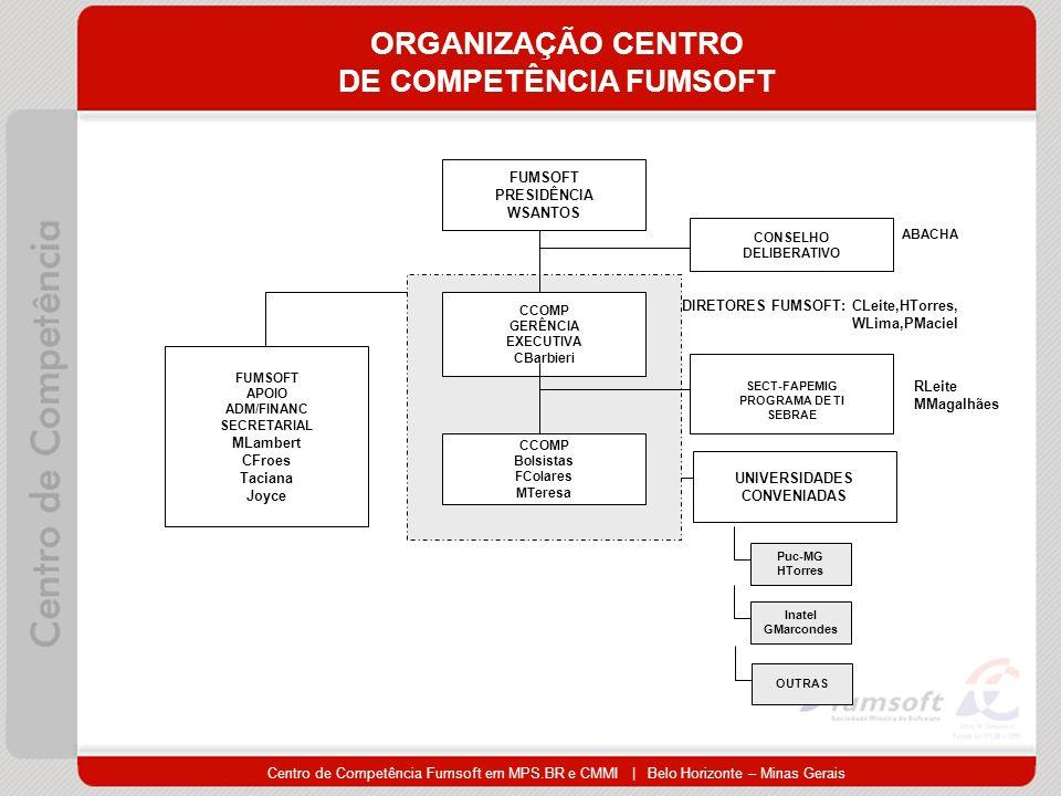 ORGANIZAÇÃO CENTRO DE COMPETÊNCIA FUMSOFT