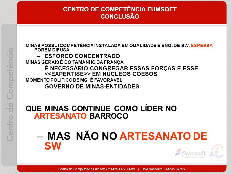 CENTRO DE COMPETÊNCIA FUMSOFT CONCLUSÃO