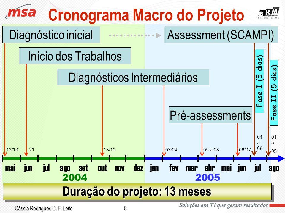 Cronograma Macro do Projeto