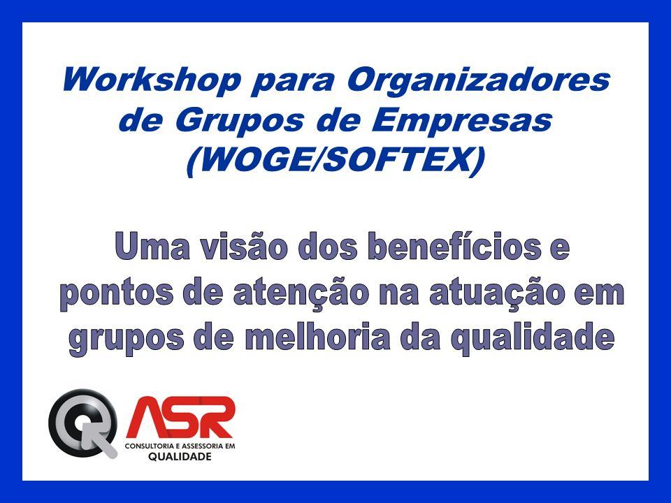 Workshop para Organizadores de Grupos de Empresas (WOGE/SOFTEX)