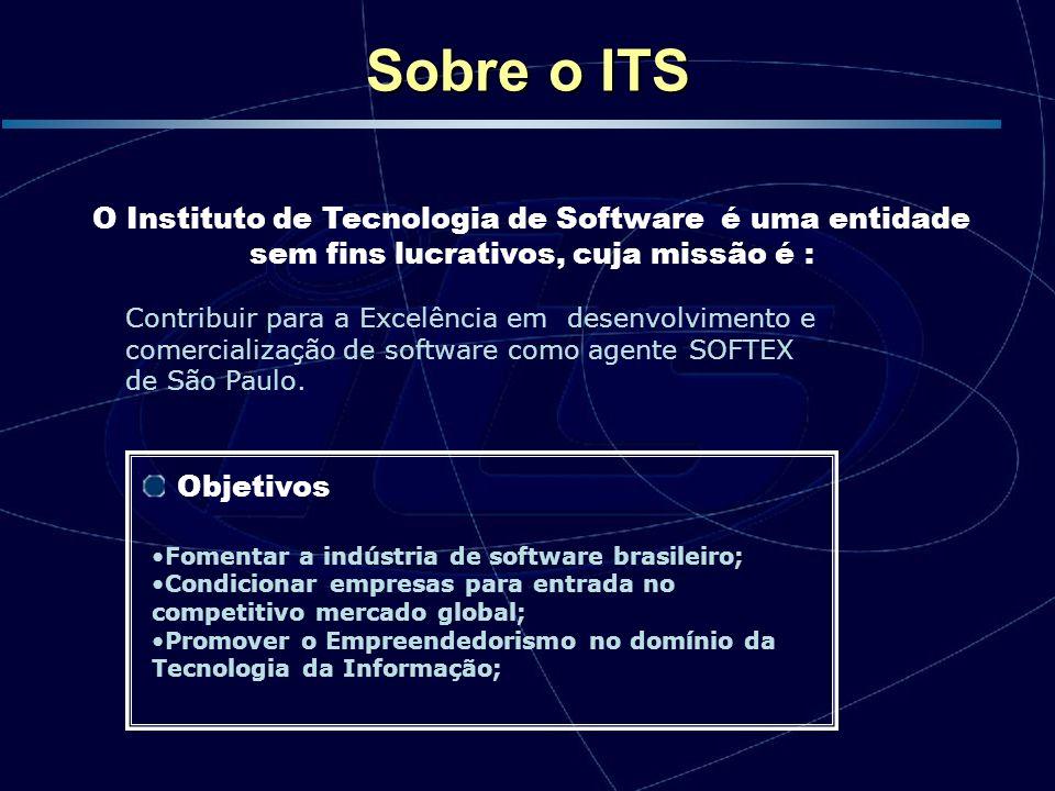 Sobre o ITSO Instituto de Tecnologia de Software é uma entidade sem fins lucrativos, cuja missão é :