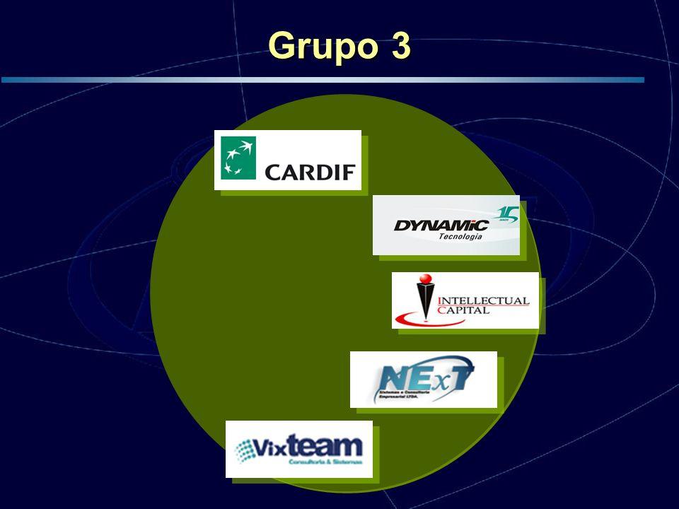 Grupo 3 Início em Junho de 2005, encontra-se no início da