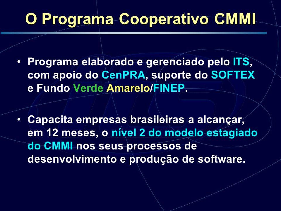 O Programa Cooperativo CMMI