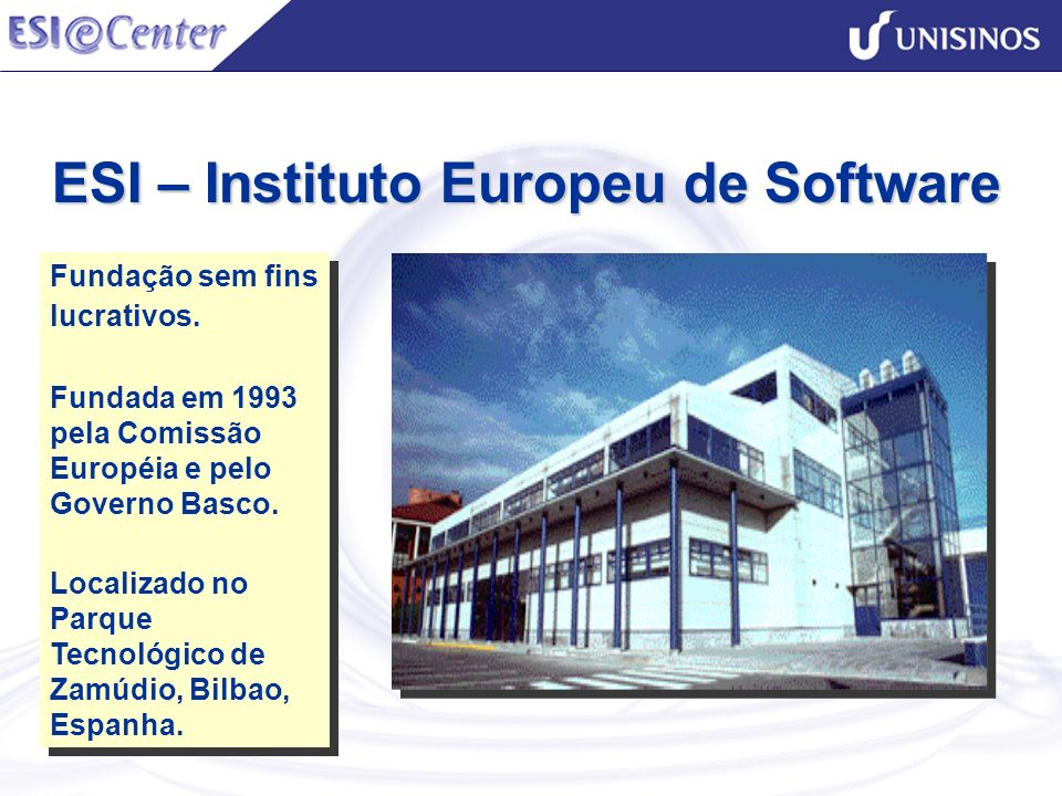 ESI – Instituto Europeu de Software