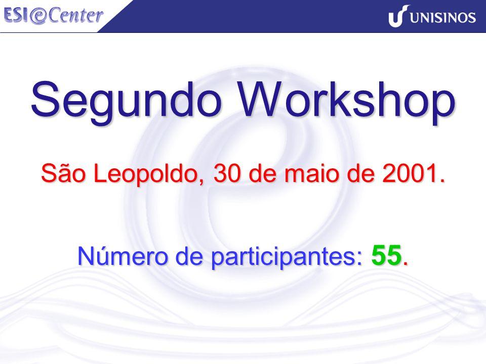 São Leopoldo, 30 de maio de 2001. Número de participantes: 55.